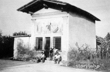 chiesa di san rocco tra bonate sopra nel 1945