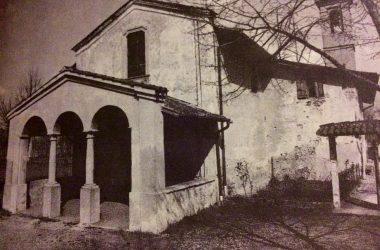 chiesetta ravarolo prima del restauro Verdello