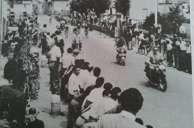 corsa ciclistica anni 50 Osio Sotto
