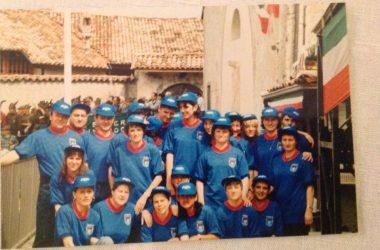 festa integruppo alpini dell 'altopiano nel 1994 Cerete