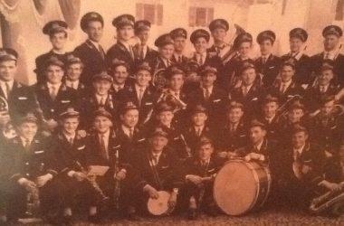 foto storica della banda musicale di sorisole