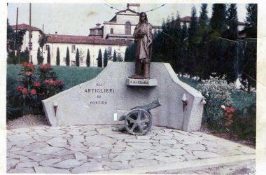 il primo cannone degli artiglieri di pontida