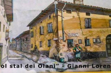 incrocio tra via Olmo e via Vittorio Veneto a Verdellino (zona Olani)
