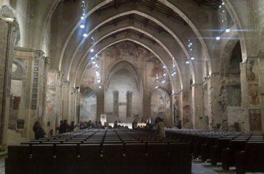 interni della ex Chiesa di S. Agostino Bergamo