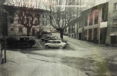 piazza della Rocca 1974 Clusone
