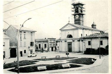 piazza di Ciserano nel 1965