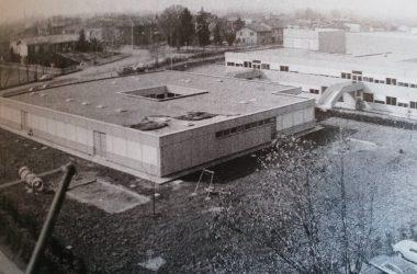 primi anni 80 le scuole campus Osio Sotto