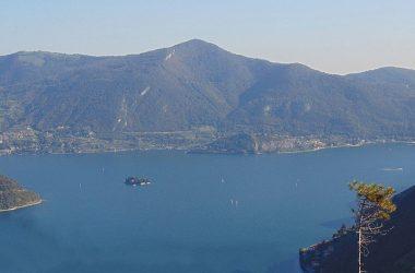 strada verde per Vigolo lago Iseo e Montisola
