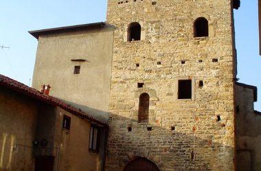 torre medievale, di Villa d'Adda