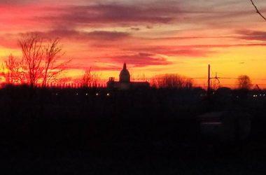 tramonti a Caravaggio